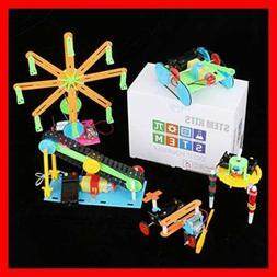 5 Set STEM Kit DC Motors Electronic Assembly Robotic DIY Toy