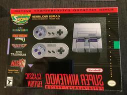 Authentic SNES Super Nintendo Classic Mini Super Entertainme