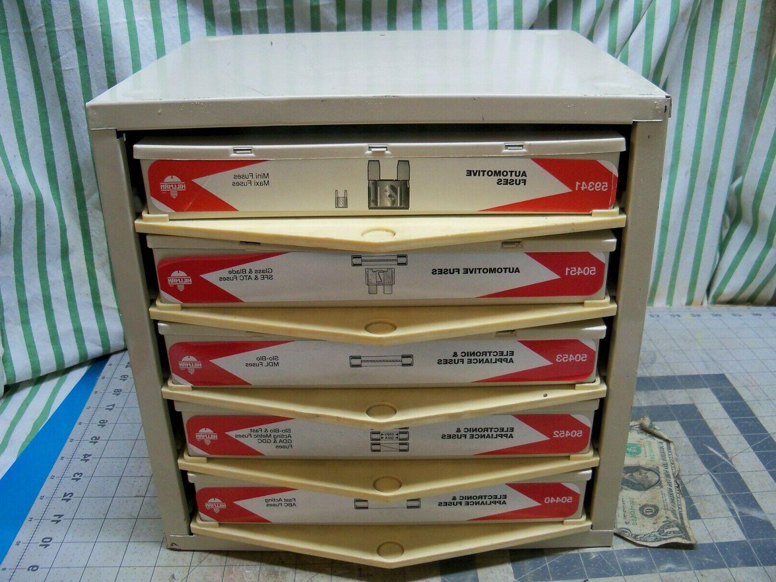 5 drawer cabinet organizer automotive appliance electronic