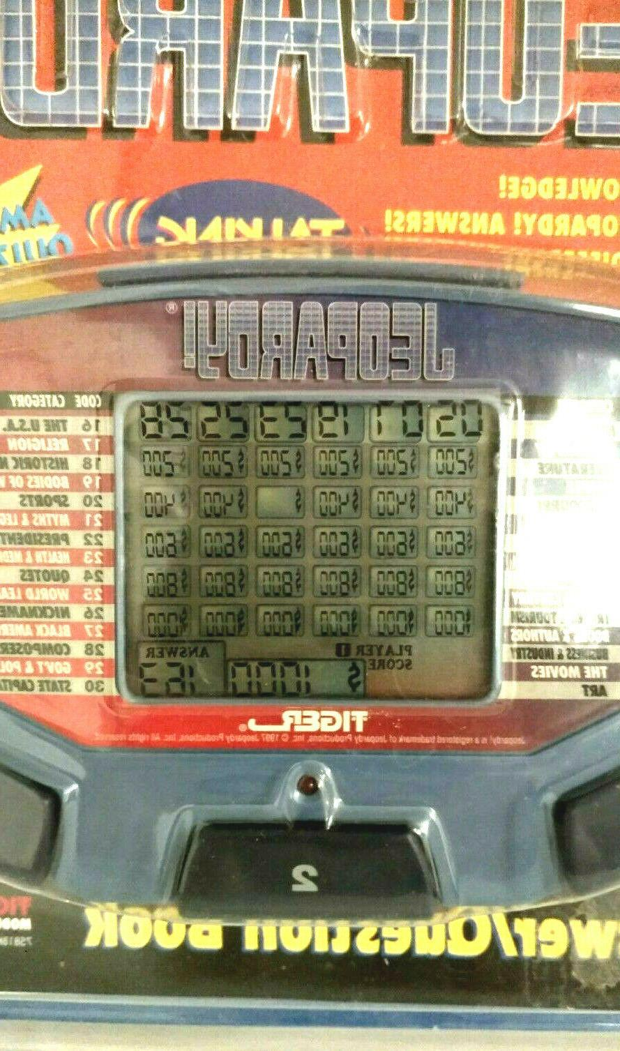 Electronic Jeopardy Vintage Game 1500 Answers