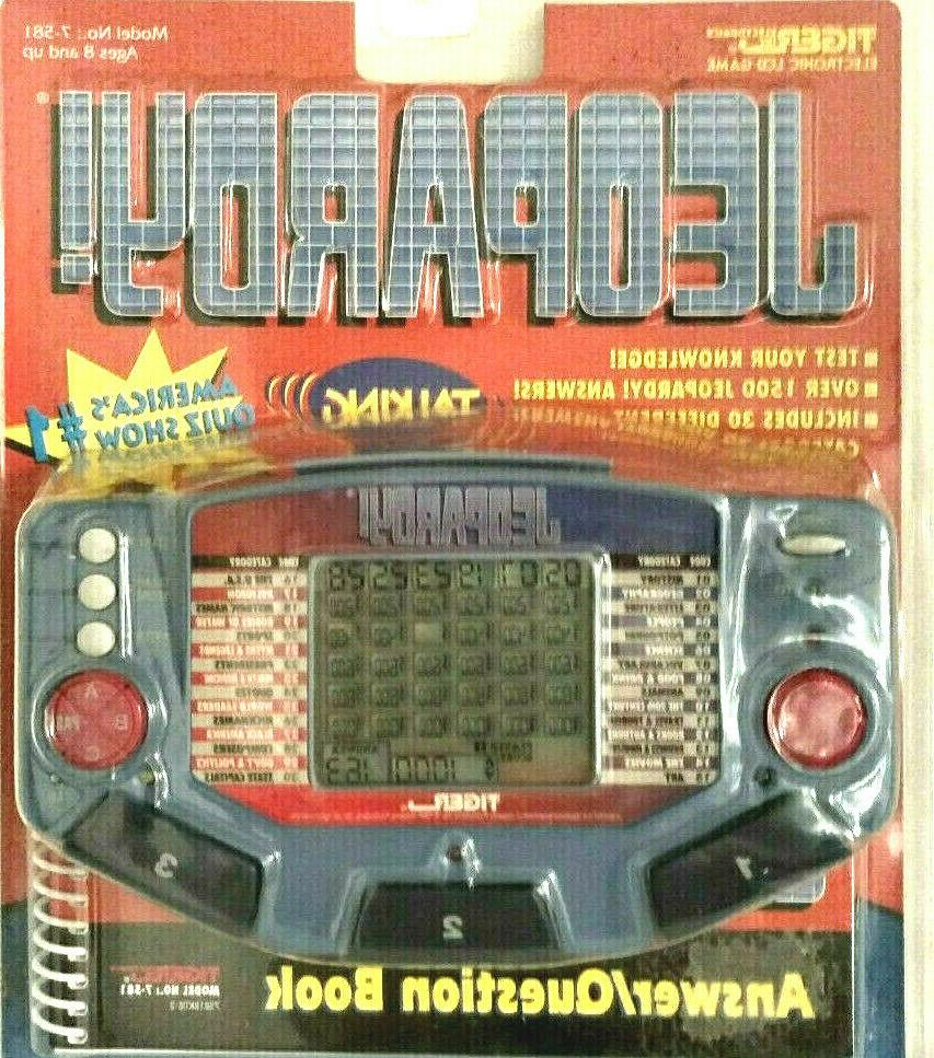 jeopardy electronic talking lcd vintage game 30