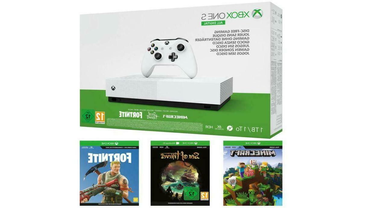 Xbox One S 1TB All-Digital Edition Console with 3 Games with