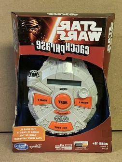 New Disney Star Wars Catch Phrase Electronic Handheld Game H