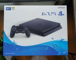NEW Sony PlayStation PS4 1TB Slim Gaming Console Black - CUH