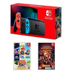Nintendo Switch 32GB Console + Minecraft Dungeons + Super Ma